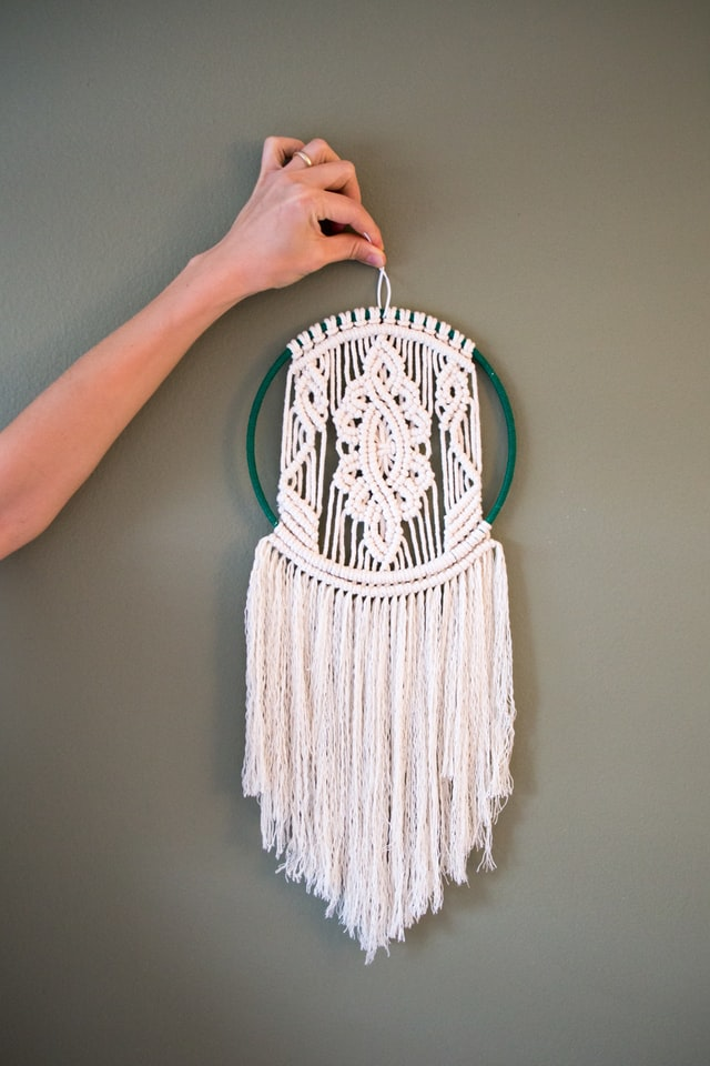 How to Clean Macrame Decor