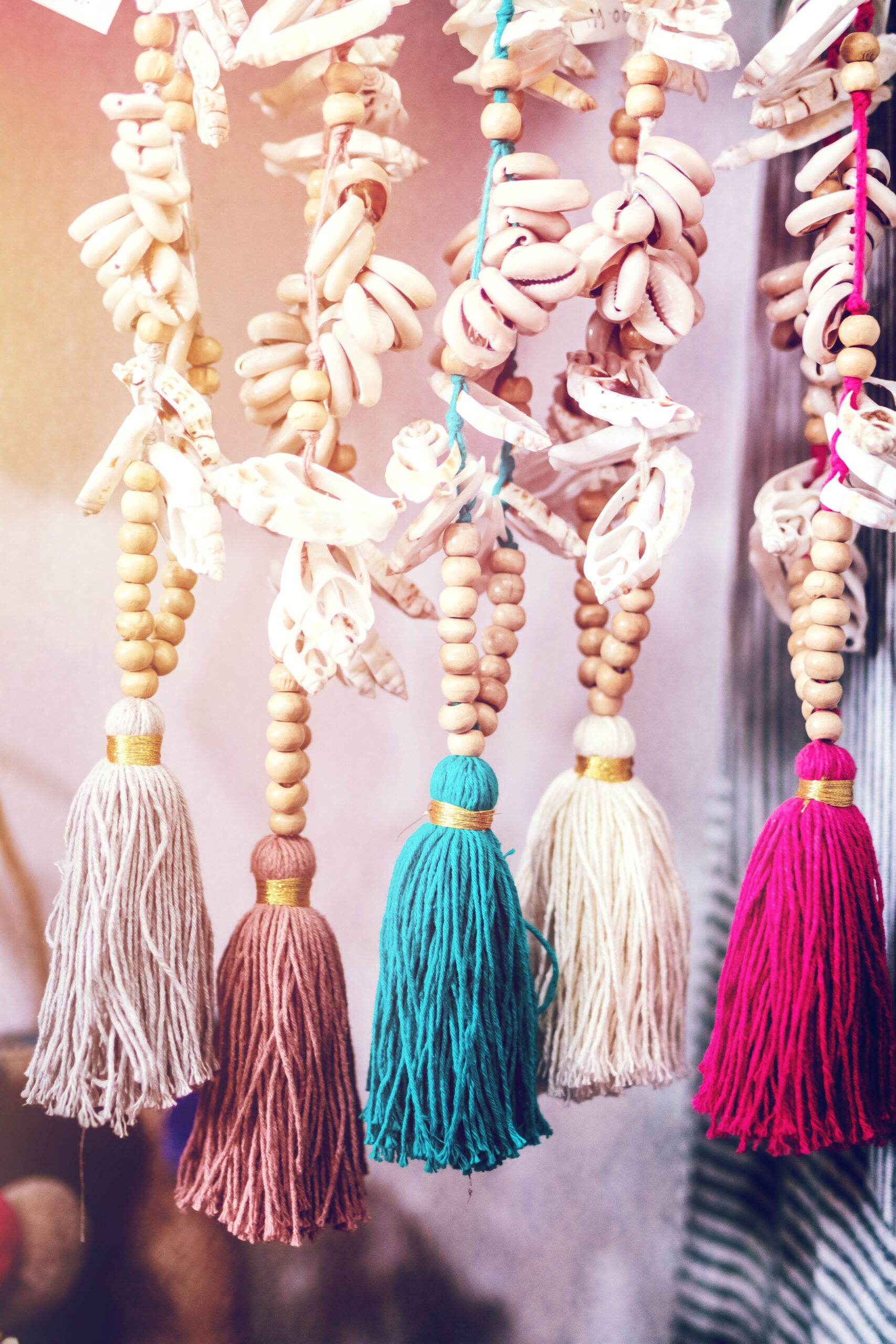 Laundry cleaning tassels are complicated- but more fun than it looks!