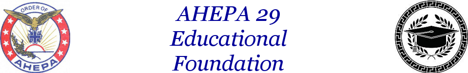 AHEPA 29 Educational Foundation