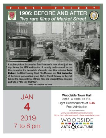 1906: BEFORE AND AFTER Two rare films of Market Street
