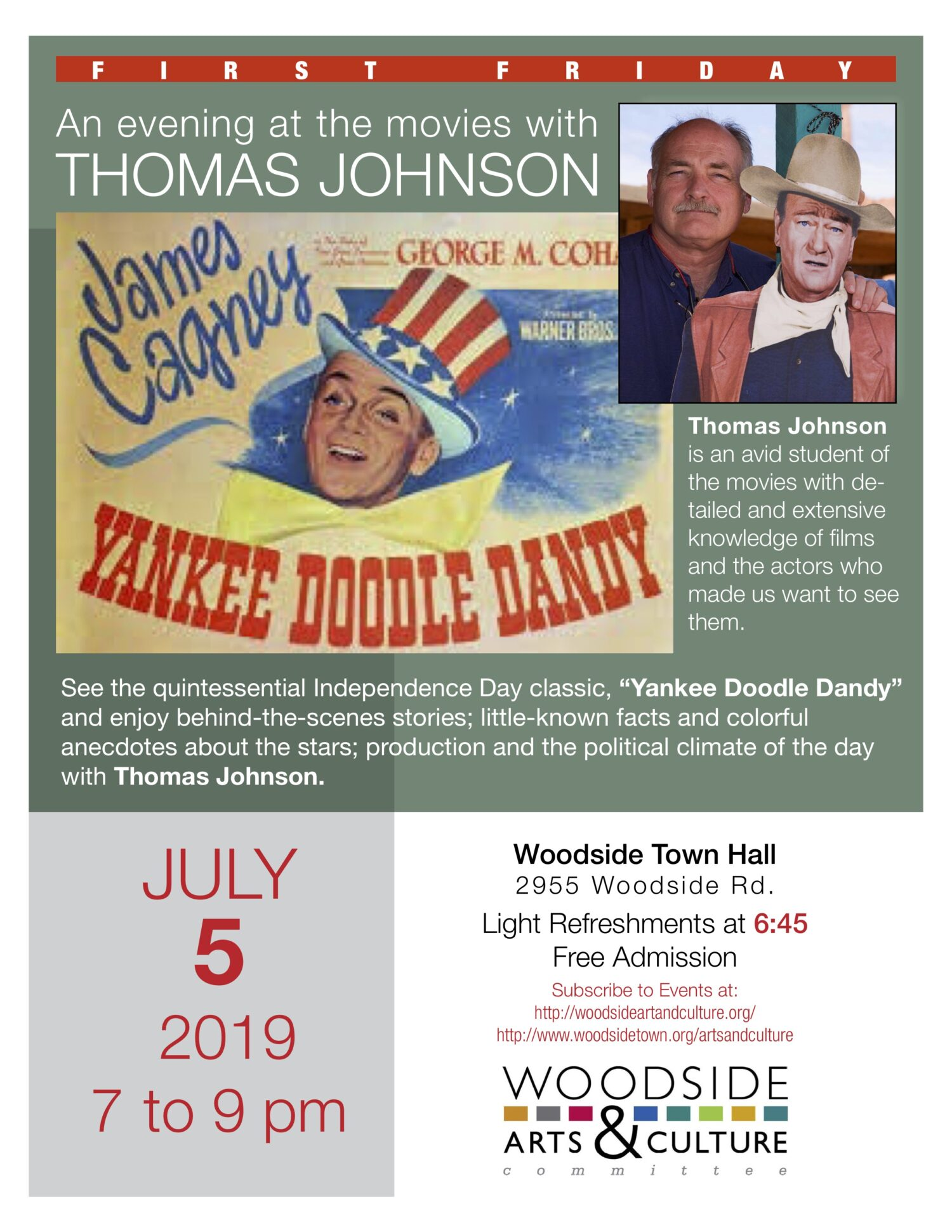 An evening at the movies with THOMAS JOHNSON
