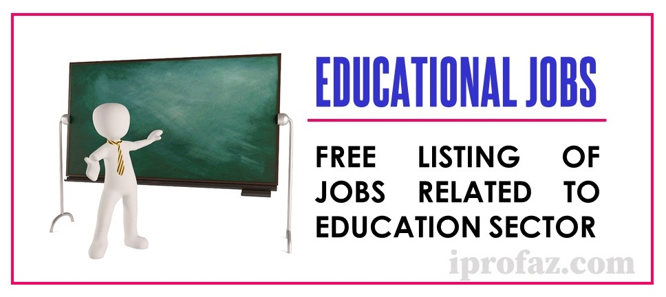 Educational Jobs in India