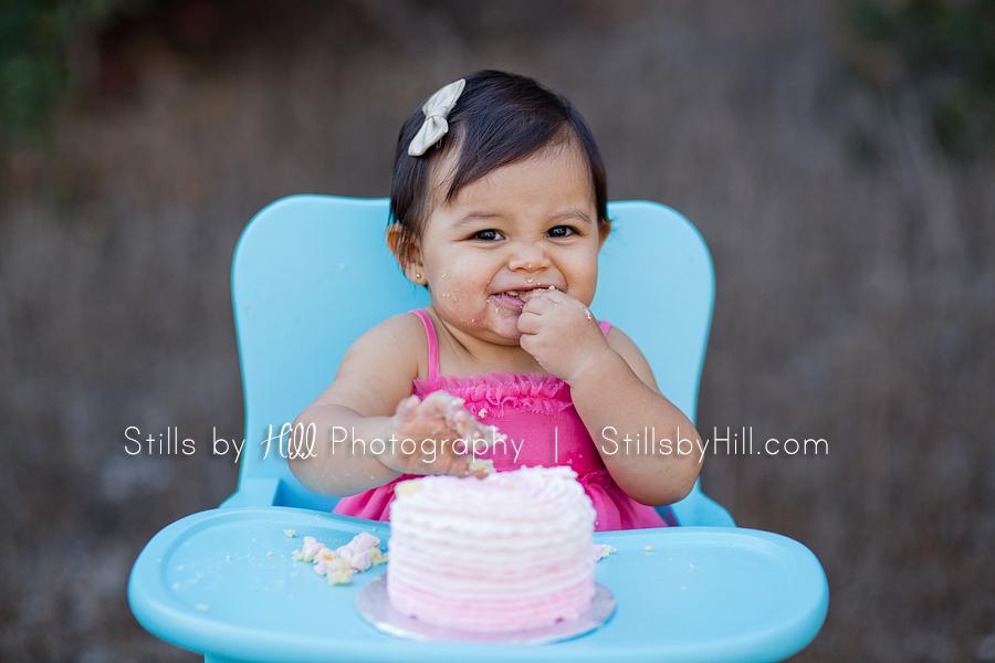 san diego child photography cake smash photography