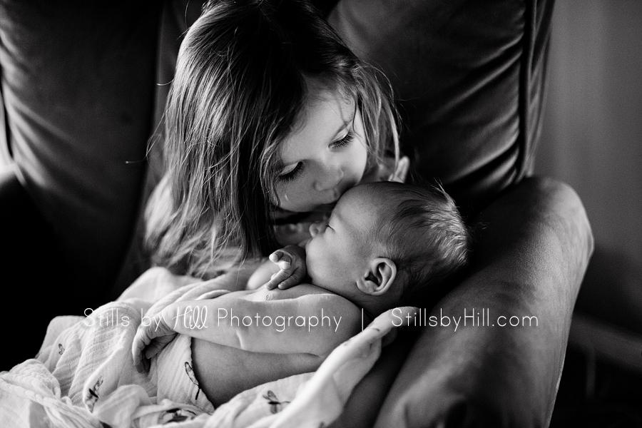 san diego newborn baby sibling photography