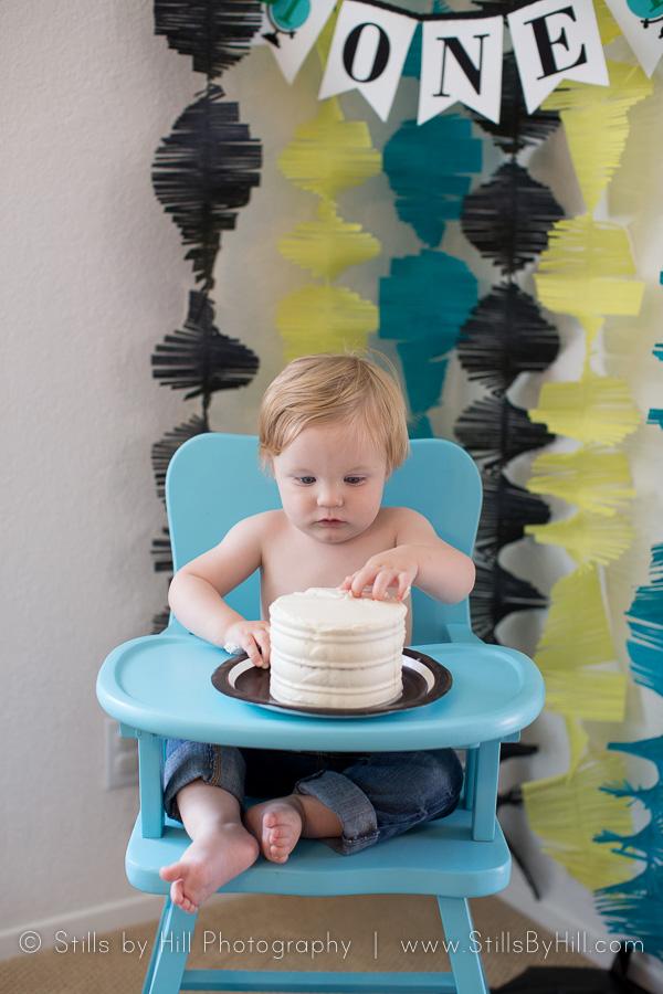 san diego cake smash photographer