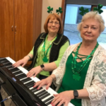 Piano Duets at Senior Center St. Patrick's Day, 2019