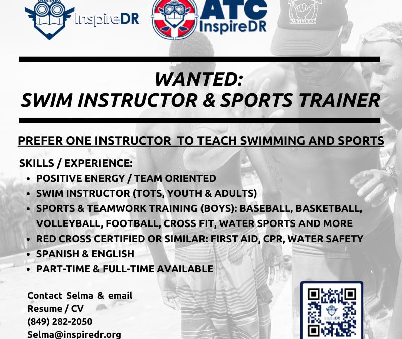 Job Posting: Swim Instructor & Sports Trainer