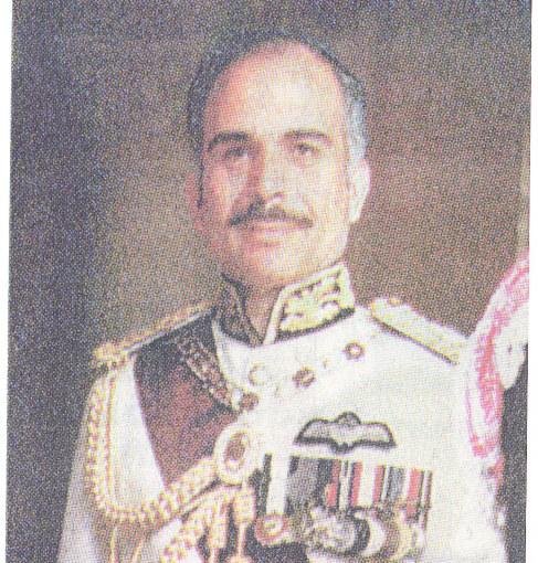 King Bin Talal Hussein