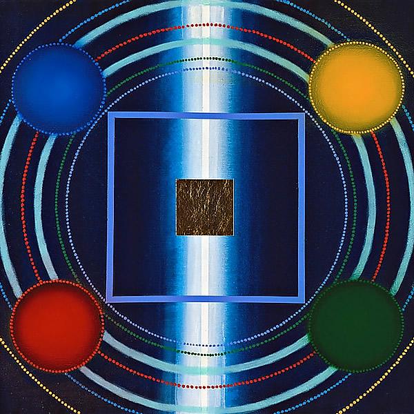 S026 Vital Forces 16x16 acrylic, 4,000