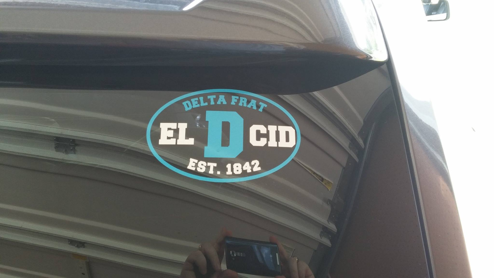 A decal by Spirited Signs.
