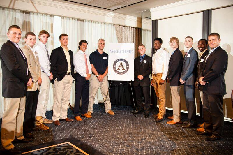 The pre-knobs in the Class of 2019 who attended the Atlanta Citadel Club dinner in June.