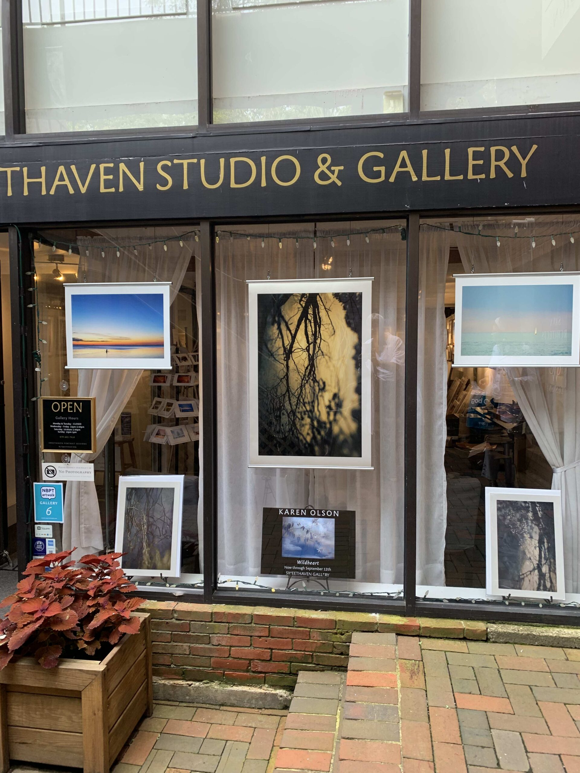 Karen Olson Photography at Sweethaven Gallery