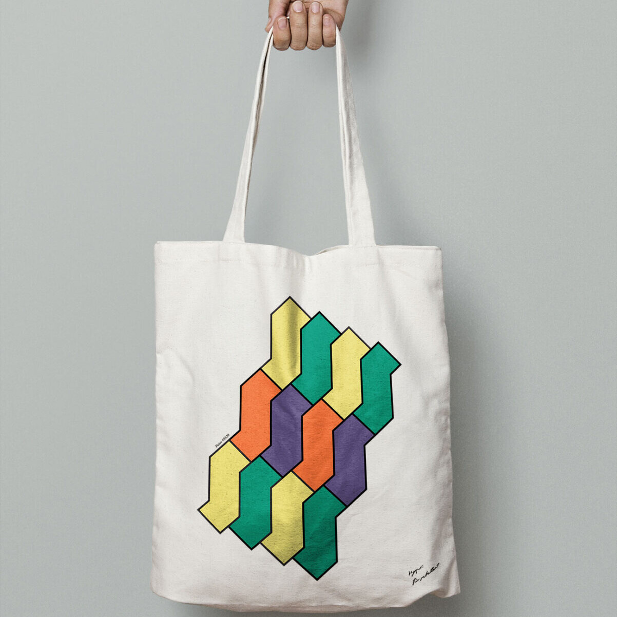 Hyperarchitects tote bag