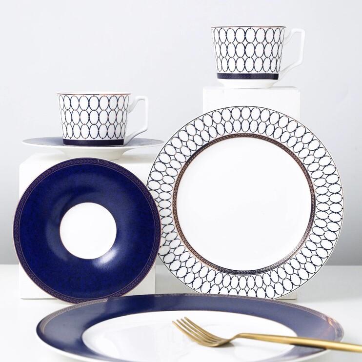 Tutu at home elegant porcelain dinner plates