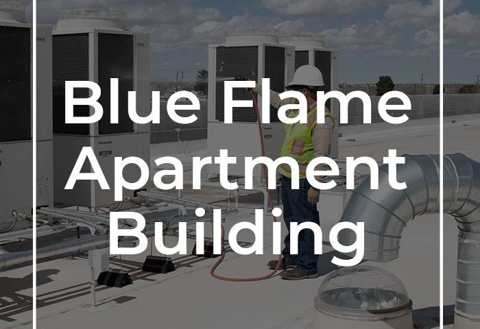 PC Automated Featured Win - Blue Flame Apartment Building