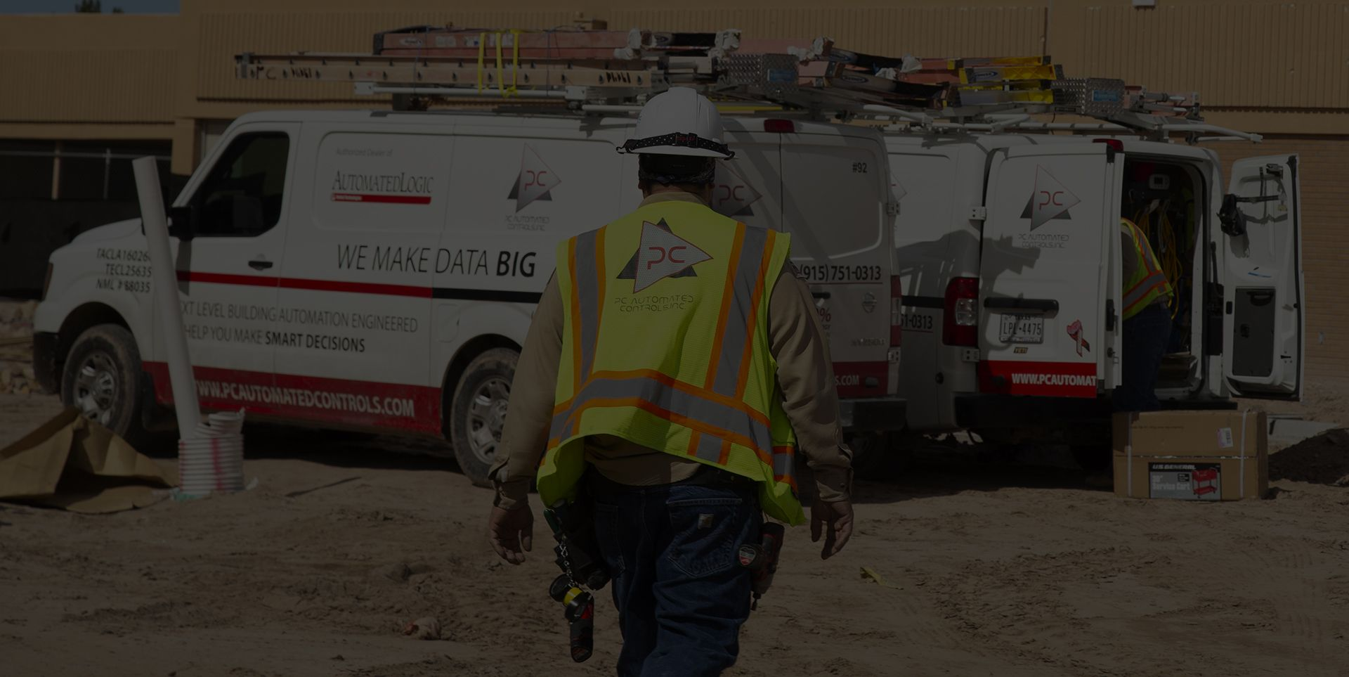 PC Automated Controls On-site Work