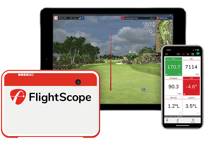 flightscope mevo plus golf simulator
