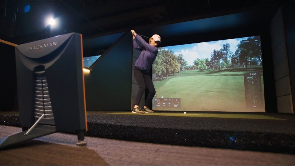 Trackman Golf Simulaor