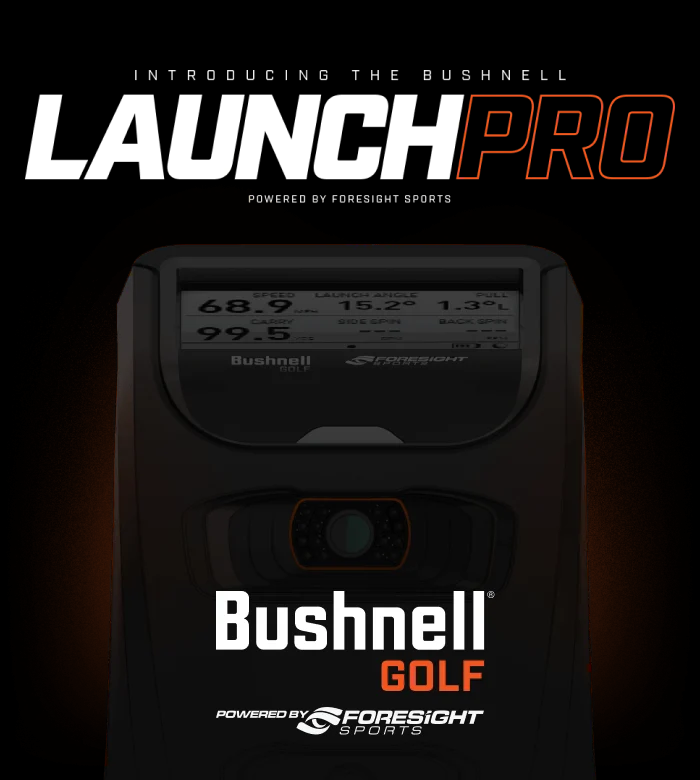 bushnell launch pro by foresight sports