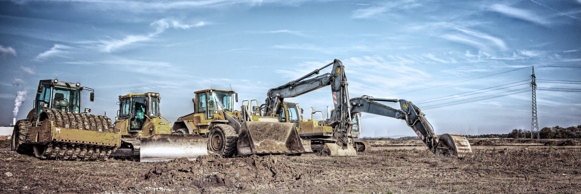 Heavy Equipment, Operating Engineers and Other Construction Equipment Operators</br><span style='color:#fff;font-size:30px;'>Construction, Forestry and Paving</span>
