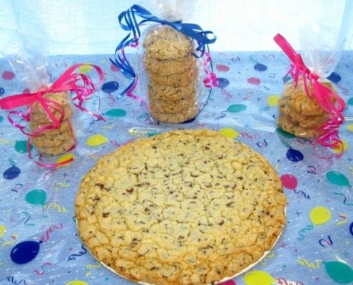 freshly baked cookie cakes MA and RI