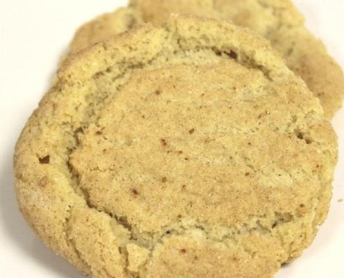 homemade snickerdoodle cookies