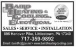 Baird Heating and Cooling Plus Electrical