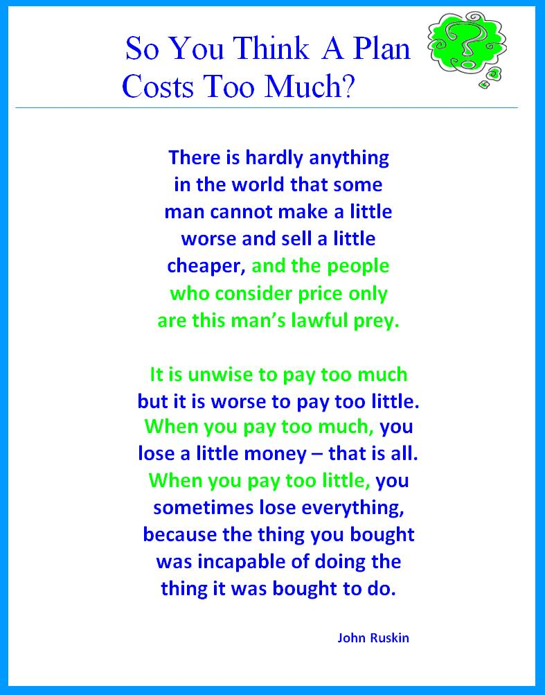 Costs too Much