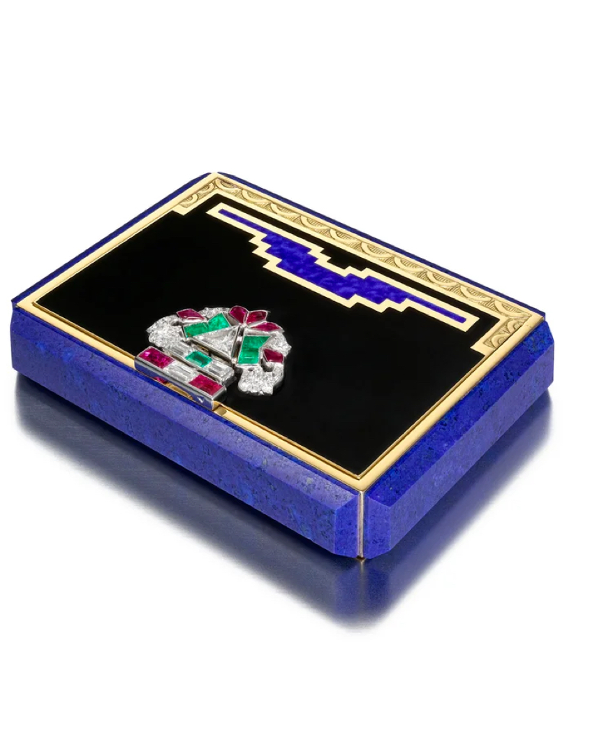 Tiffany Art Deco Vanity case, an example of which Ruba Abu-Nimah is Tiffany's new Creative Director could redesign.