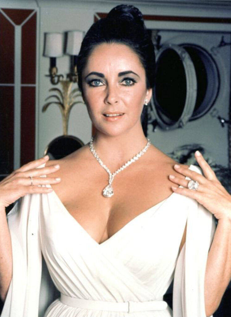 Elizabeth Taylor Ping Pong Ring Cover