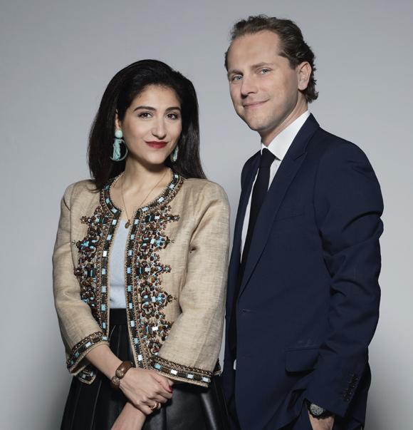 Yasmin and Christian Hemmerle Portraits