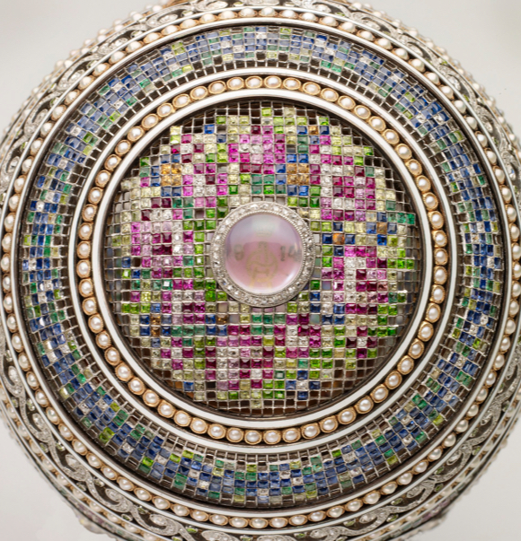 Faberge Mosaic Egg Top View