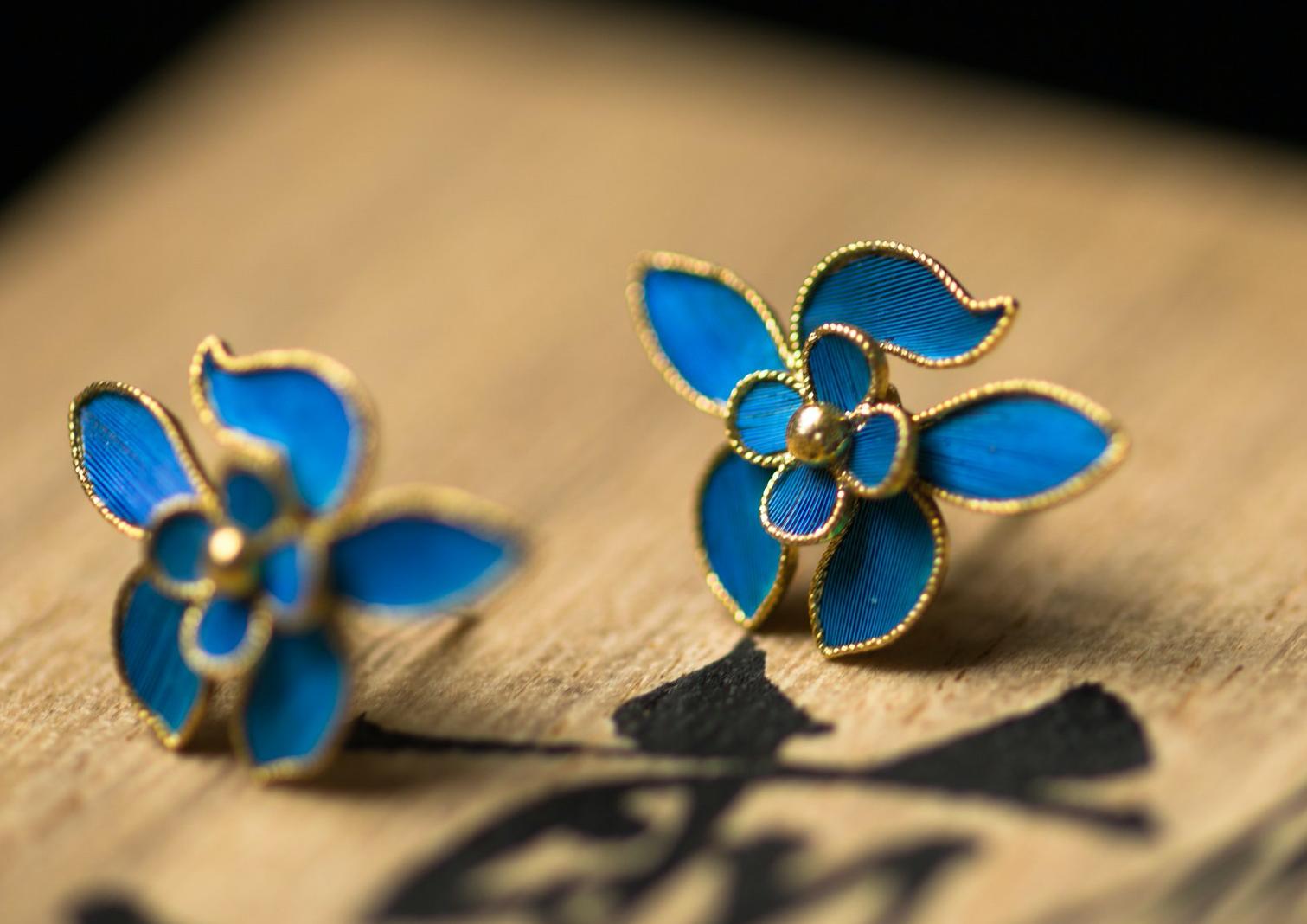 Modern Tian-tsui jewelry from Shang Tang Peony