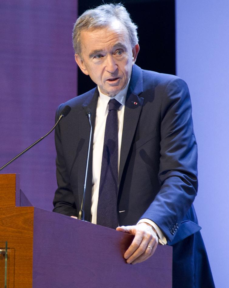 Bernard Arnault CEO of LVMH