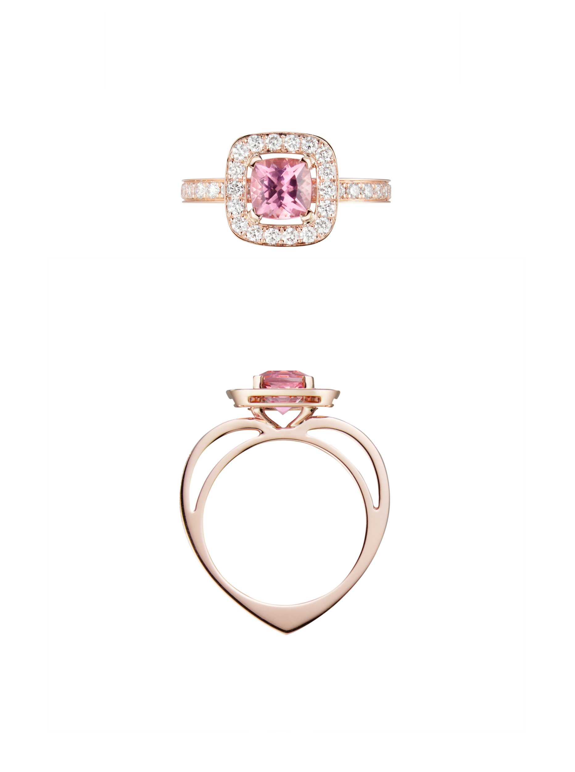bague-Alissa ring by karpov paris top and side
