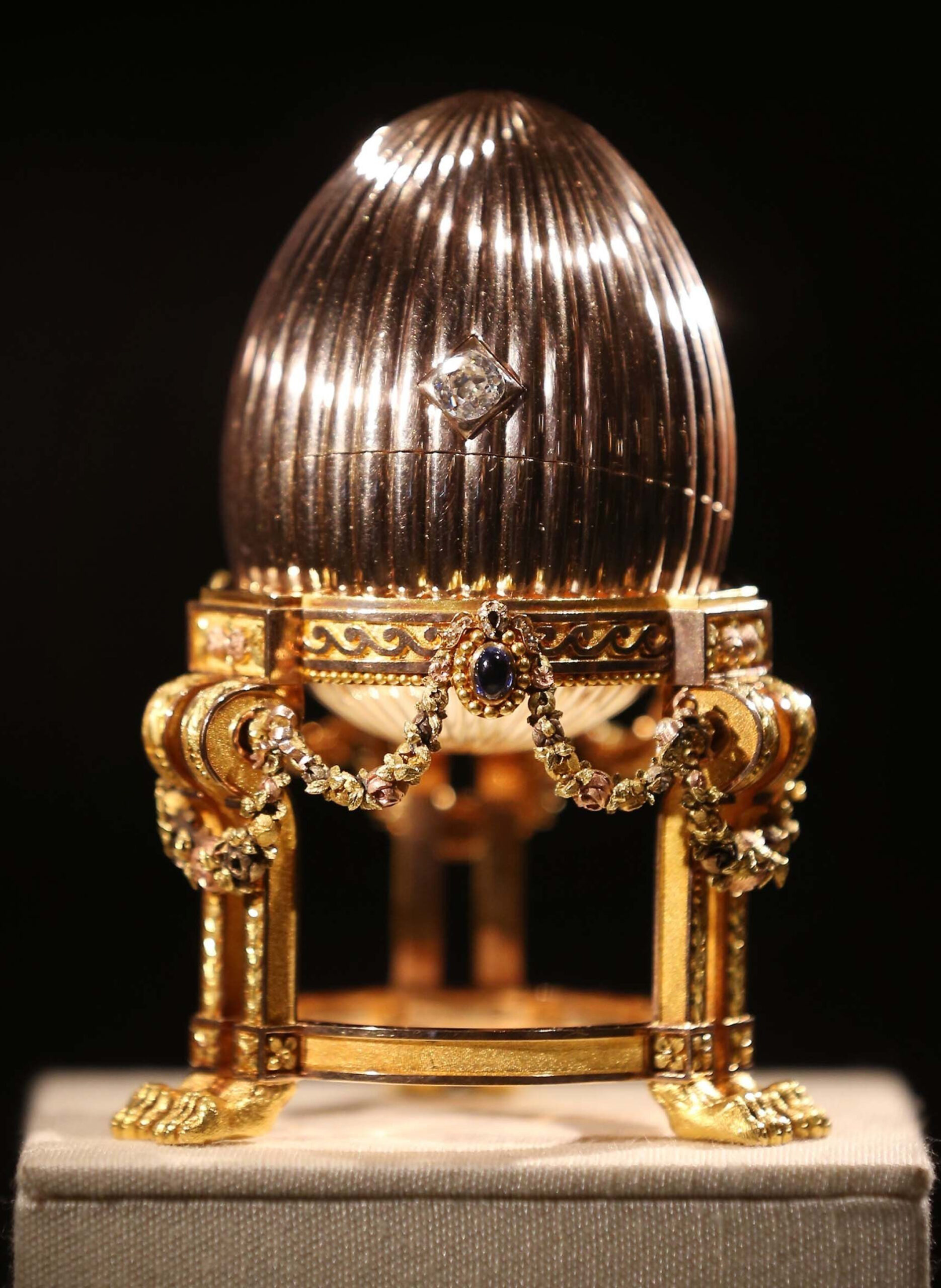 Faberge's third egg cover photo