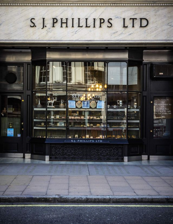 SJ Philips store Mayfair