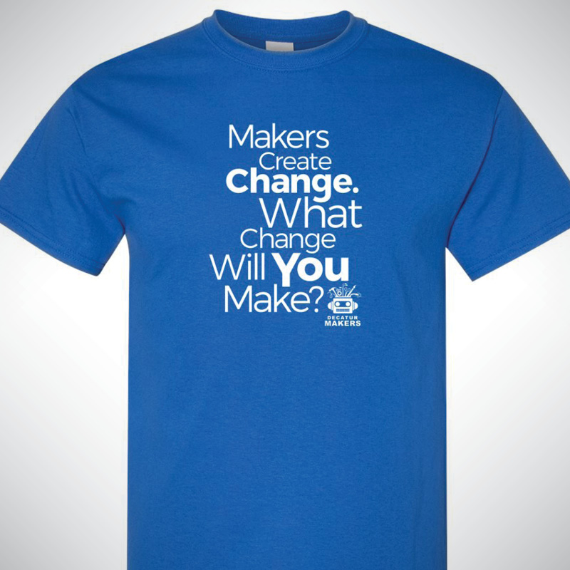 Decatur Makers T-shirts