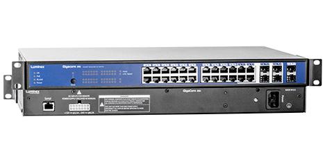 Luminex GigaCore 26i Network Switch for AVB, Dante, AES67, sACN, ArtNet