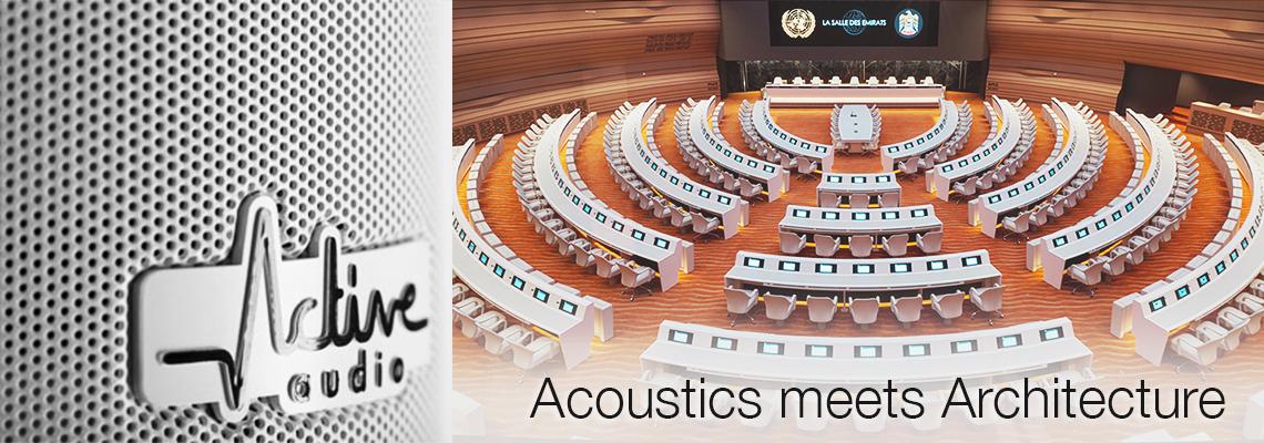 ActiveAudio Column Loudspeakers