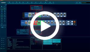 Luminex Araneo for GigaCore AVB and Dante Network Switches using GigaCore 26i and GigaCore 10