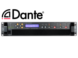 44M06 4x1500W DSP Amplifier with Dante