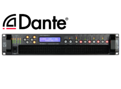 48M06 8x750W DSP Amplifier with Dante