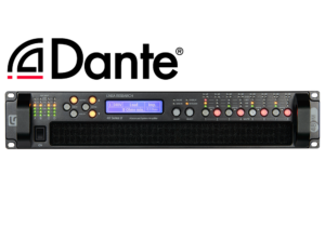 48M03 8x450W DSP Amplifier with Dante