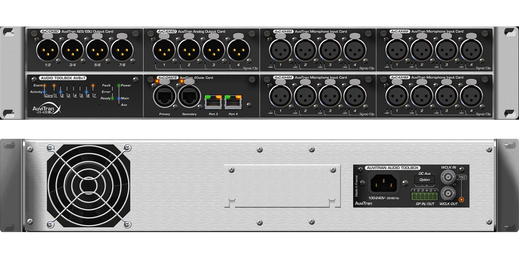 Audio ToolBox StageBox Model AVBx7