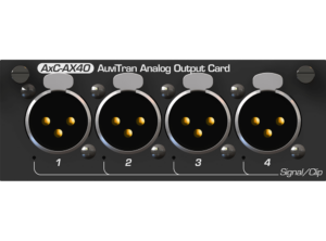 ToolBox 4 Analog Output XLR Card