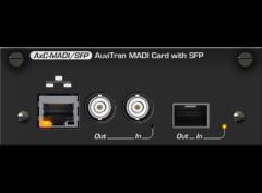 ToolBox MADI Card wSFP Cage