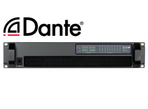 88C03 8x450W DSP Amplifier with Dante