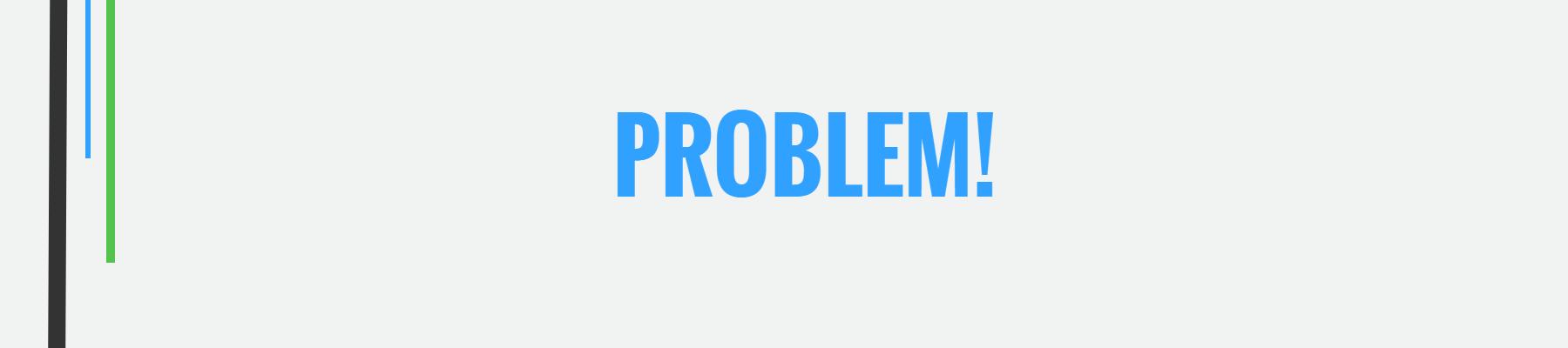 Problem with Classical Economics