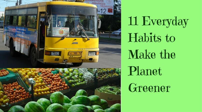 green everyday habits